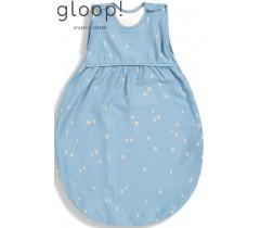 GLOOP - Saco de dormir 80x40cm City Blue 3-6 meses Verão