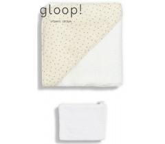 GLOOP - Toalha de banho 90x90cm Natural