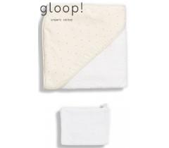 GLOOP - Toalha de banho 90x90cm Little Stripes