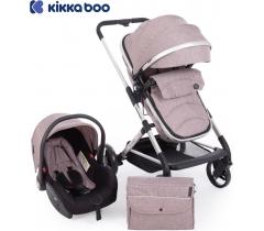 Kikka Boo - Carrinho de babé Silla de paseo 3 in 1 Amulett Beige