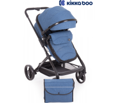 Kikka Boo - Carrinho de babé Amulett 2 in 1 Azul oscuro