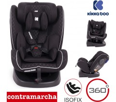 Kikka Boo - Orbital 360 Black 0-1-2-3 (0-36 kg)