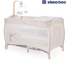 Kikka Boo - Cama de viagem Dolce Sonno Beige Birdy 2 níveis