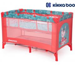 Kikka Boo - Cama de viagem Pyjama Party Kitty's 2 níveis