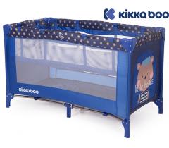 Kikka Boo - Cama de viagem Pyjama Party Dark Blue Bear 2 níveis