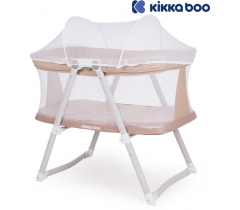 Kikka Boo - Berço Mom and Me Beige Melange