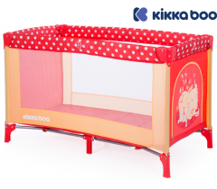 Kikka Boo - Cama de viagem Pyjama Party Red Lion 1 nível