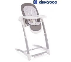 Kikka Boo - Cadeira da papa Prima 3 in 1 Grey