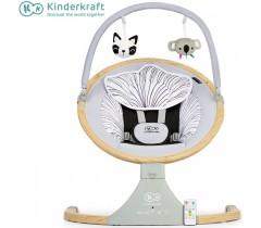 Kinderkraft - Espreguiçadeira de baloiço Lumi wooden