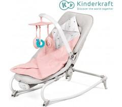 Kinderkraft - Espreguiçadeira FELIO pink