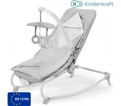 Kinderkraft - Espreguiçadeira FELIO Stone Grey
