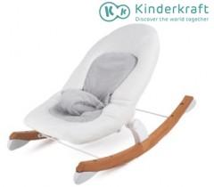 Kinderkraft - Espreguiçadeira de baloiço FINIO white