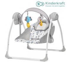 Kinderkraft - Espreguiçadeira de baloiço FLO mint