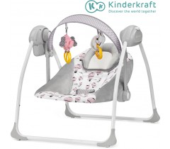 Kinderkraft - Espreguiçadeira de baloiço FLO pink