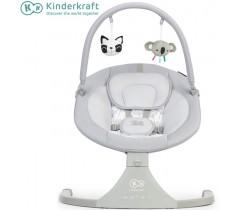 Kinderkraft - Espreguiçadeira de baloiço Luli grey