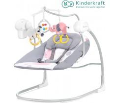 Kinderkraft - Espreguiçadeira de baloiço MINKY pink