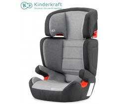 Kinderkraft - Cadeira Auto Junior Fix black/ grey ISOFIX