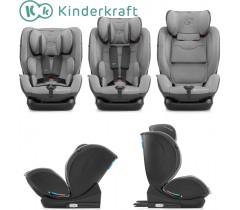 Kinderkraft - Cadeira auto 0+/1/2/3 MYWAY grey