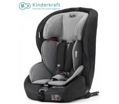 Kinderkraft - Cadeira Auto SAFETY-FIX black/gray ISOFIX