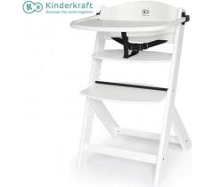 Kinderkraft - Cadeira da papa Enock full white