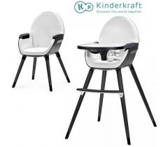 Kinderkraft - Cadeira da papa FINI full black