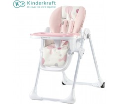 Kinderkraft - Cadeira da papa YUMMY pink