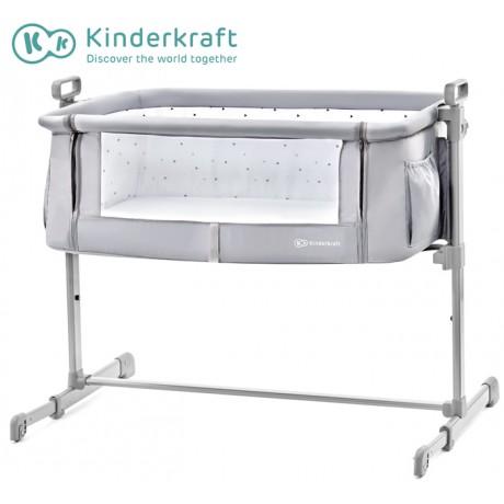 Kinderkraft - Berço NESTE gray