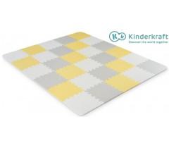 Kinderkraft - Tapete de atividades Luno Yellow