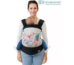 Kinderkraft - Porta bebés ergonómico Huggy Bird