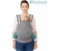 Kinderkraft - Porta bebés ergonómico Huggy Grey