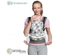 Kinderkraft - Porta bebés NINO grey