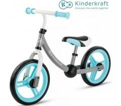 Kinderkraft - Bicicleta 2WAY next turquoise
