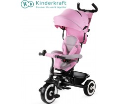 Kinderkraft - Triciclo ASTON pink