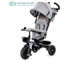 Kinderkraft - Triciclo AVEO gray