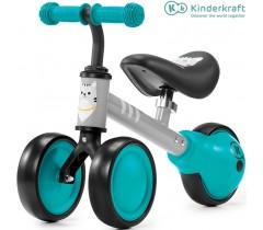 Kinderkraft - Primeira bicicleta Cutie Turquoise