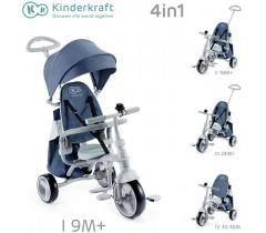 Kinderkraft - Triciclo Jazz denim