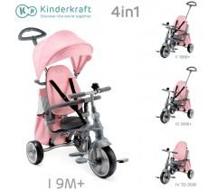 Kinderkraft - Triciclo Jazz pink