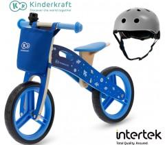 Kinderkraft - Bicicleta Runner Galaxy blue