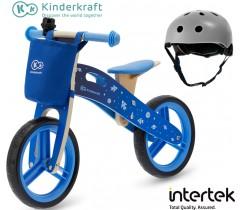 Kinderkraft - Bicicleta Runner Galaxy blue hemlet