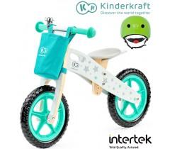 Kinderkraft - Bicicleta Runner Stars hemlet