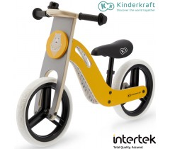 Kinderkraft - Bicicleta UNIQ honey