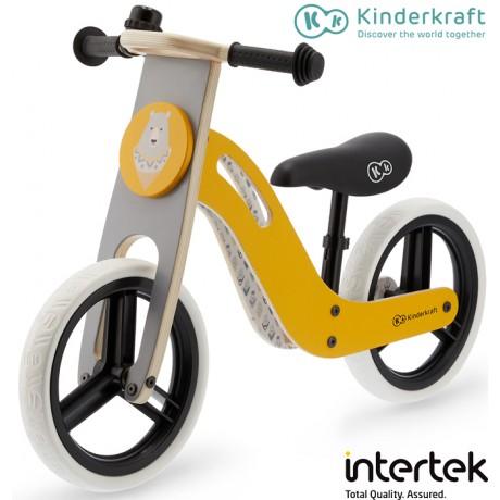 Kinderkraft - Bicicleta UNIQ honey