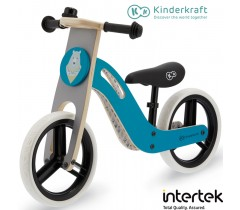 Kinderkraft - Bicicleta UNIQ turquoise