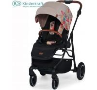 Kinderkraft - Carrinho de bebé All Road Bird Pattern