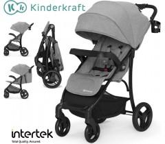 Kinderkraft - Carrinho de bebé CRUISER Grey