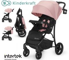 Kinderkraft - Carrinho de bebé CRUISER Pink