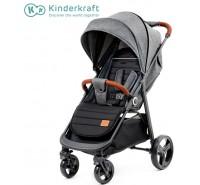 Kinderkraft - Carrinho de bebé GRANDE gray