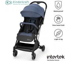 Kinderkraft - Carrinho de bebé INDY denim