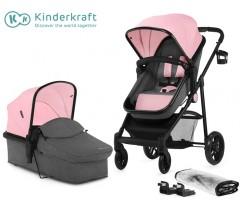 Kinderkraft - Carrinho de bebé 2 in 1 JULI pink