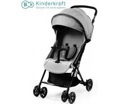 Kinderkraft - Carrinho de bebé LITE UP gray